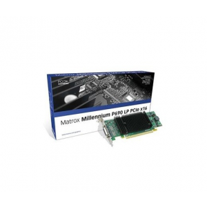 Matrox Millennium P690 Low-Profile PCI-E 128MB LFH-60 BRA