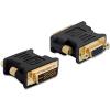DELOCK Adapter VGA 15pin female > DVI 24+5 male (65016)