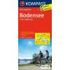 Bodeni-tó és környéke kerékpártérkép - Kompass FK 3113