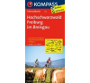 Hochschwarzwald - Freiburg im Breisgau kerékpártérkép - Kompass FK 3112 térkép