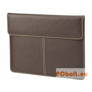 "HP Leather Sleeve 13,3"" bőr notebook táska Brown"