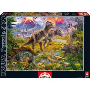 Educa Educa 500 db-os puzzle - Dinoszauruszok (15969)