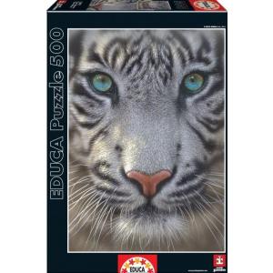 Educa Educa 500 db-os puzzle - Fehér tigris (15971)