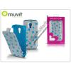 Muvit Samsung i9190 Galaxy S4 Mini flipes tok - Muvit Agatha Ruiz De La Prada - Stars Slim