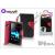 Made for Xperia MUVIT Sony Xperia E (C1505) flipes tok - Made for Xperia Muvit Wallet Folio - black/red