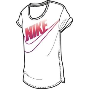 Nike TEE-BF NIKE FUTURA 589570-101