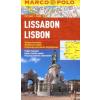 Lisszabon vízhatlan várostérkép tömegközlekedéssel - Marco Polo
