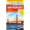 San Francisco vízhatlan várostérkép tömegközlekedéssel - Marco Polo