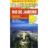 Rio de Janeiro vízhatlan várostérkép tömegközlekedéssel - Marco Polo