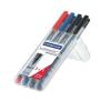STAEDTLER Alkoholos marker készlet, OHP, 1 mm, STAEDTLER