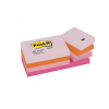 3M POSTIT Öntapadó jegyzettömb, 38x51 mm, 100 lap, 3M POSTIT, vidám színek