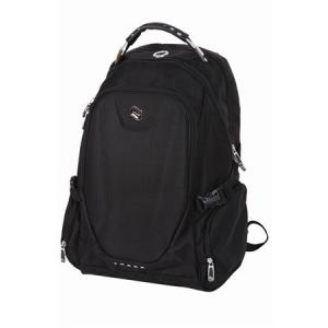 """Pulse Notebook hátizsák, 15"""", 2 részes, PULSE """"Track"""", fekete"""