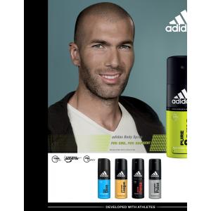 Adidas Pure Game férfi borotválkozás utáni after shave (after shave) ash 100ml