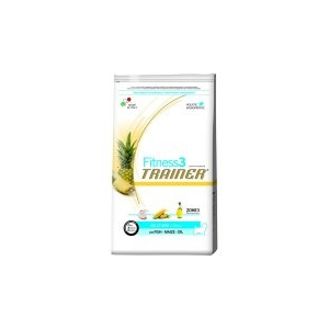 Trainer Fitness3 Adult Mini Fish&Maize Kutyaeledel, 7,5kg