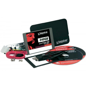 Kingston SSDNow V300 240GB SATA3 Upgrade Bundle Kit SV300S3B7A/240G