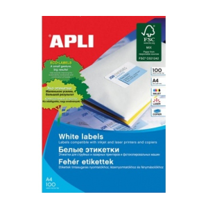 APLI APLI uni. 105x148mm 2000db/cs | Általános etikettek