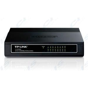 TP TP-LINK Switch 16x100Mbps Muanyag Asztali