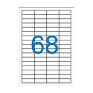 VICTORIA uni. 48,5x16,9mm 6800db/cs | Általános etikettek