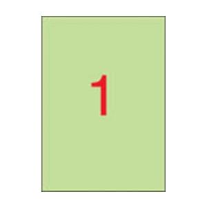 APLI APLI 210x297mm színes pasztell zöld 20db/cs | Színes etikettek