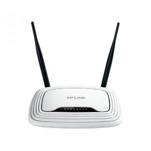 TP-Link NET TP-LINK TL-WR841N 300mbps Wireless LAN Router fix antennás
