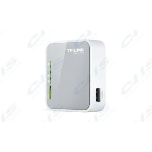 TP TP-LINK Wireless N 3G Router 150Mbps 1xWAN/LAN (100Mbps)+USB(3G-nek) Hordozható