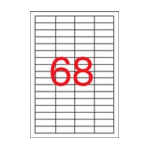 APLI APLI uni. 48,5x16,9mm 6800db/cs | Általános etikettek