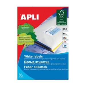 APLI APLI uni. 210x297mm 100db/cs | Általános etikettek