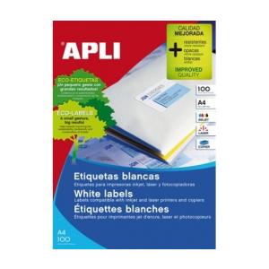 APLI APLI uni. 38x21,2mm 6500db/cs | Általános etikettek