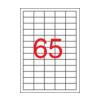 APLI APLI uni. 38x21,2mm 32500db/cs | Általános etikettek
