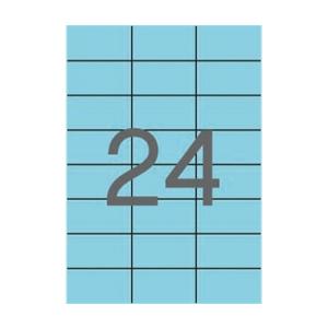 APLI APLI 70x37mm színes pasztell kék 480db/cs | Színes etikettek