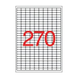 APLI APLI uni. 17,8x10mm kerekített 6750db/cs | Eltávolítható etikettek