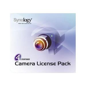 Synology NAS SYNOLOGY Camera 4 4 darab kamera licensz