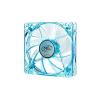 Deepcool Cooler 12cm - XFAN 120U B/B (26dB; max. 75,96 m3/h; 3pin csatlakozó; ház hutésre, UV, kék LED)