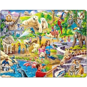 Larsen Larsen maxi puzzle 48 db-os Állatkert - US30