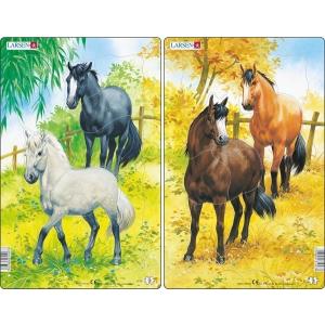 Larsen Larsen midi puzzle 10 db-os Lovak H15