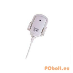 Hama SC-460 Clip Microphone WhiteBlack Mikrofon,3.5mm,Kábel:2,4m,2kOhm,20Hz-16kHz,Mikrofon,Black Mikrofon,3.5mm,Kábel:2,4m,2kOhm,20Hz-16kHz,Mikrofon,White
