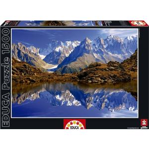 Educa Educa 1500 db-os puzzle - Mont Balnc - Chamonix (15532)