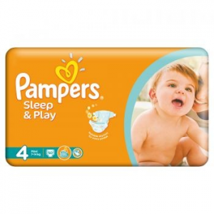 Pampers Sleep&Play 4 Value Pack pelenka, 50 db (4015400224242)