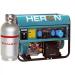Heron EGM-68/55 AVR-1EG benzin-gáz motoros áramfejlesztő, max 6800/5500 VA (8896121G)