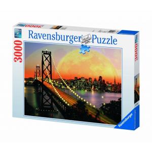Ravensburger Ravensburger 3000 db-os puzzle - San Francisco éjszaka (17039)