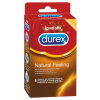Durex Durex Natural Feeling - latexmentes óvszer (8db)