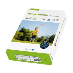 Recyconomi Másolópapír A/4 80gr RECYCONOMIC CLASSIC WHITE