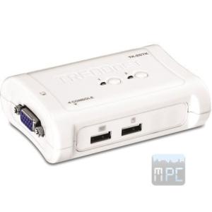 Trendnet TK-207K 2 portos USB2.0 KVM switch