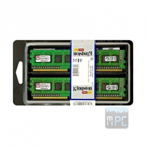 Kingston 16GB 1600MHz DDR3 memória Non-ECC CL11 Kit of 2