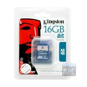 Kingston 16GB SDHC Secure Digital Class 4 memóriakártya