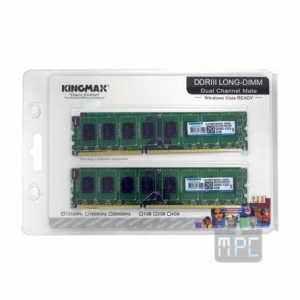 Kingmax 4GB 1333MHz DDR3 memória Kit of 2