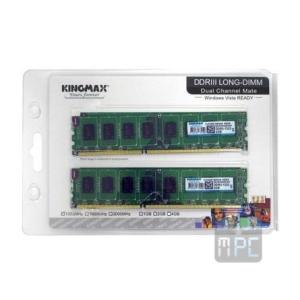 Kingmax 4GB 1333MHz DDR3 memória Kit of 2