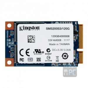 Kingston SSDNow mS200 120GB mSATA SSD