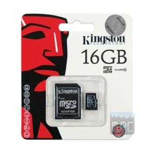 Kingston 16GB Class 4 microSDHC memóriakártya