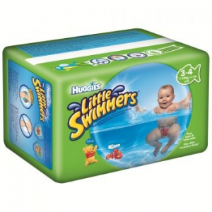 Huggies Little Swimmers úszópelenka, méret 3-4, 7-15 Kg, 12 db (U1833930)